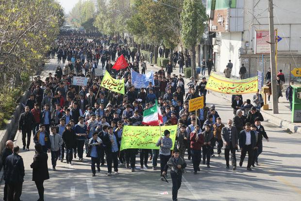 راهپیمایی ۱۳ آبان مانور قدرت و انسجام ملی است