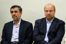 توضیحات قالیباف در مورد دیدارش با احمدی نژاد