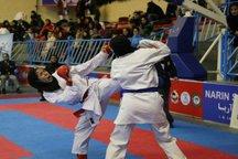 سهم سمنان از رقابت های بین المللی کاراته تهران 25 مدال بود