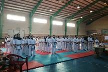 سردشت قهرمان رقابت های کاراته بانوان آذربایجان غربی شد