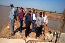تقویت سیل بند 2 روستای در معرض خطر سیلاب خرمشهر ادامه دارد