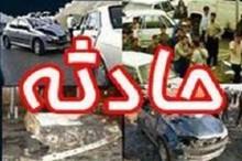 حادثه رانندگی در جاده شهرکرد به شلمزار یک کشته و دو مصدوم برجای گذاشت
