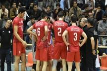 تیم والیبال دورنای ارومیه از سایپای تهران شکست خورد