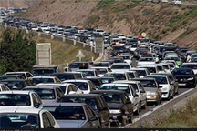 ممنوعیت تردد از تهران به آمل از محور هراز   ترافیک فوق سنگین در محدوده بومهن، پردیس و جاجرود