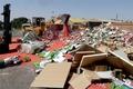 نابود سازی 125 تن کالای غیر بهداشتی در بندرعباس