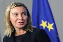 موگرینی: بروکسل در ماه آوریل میزبان کنفرانسی درباره آینده سوریه خواهد بود
