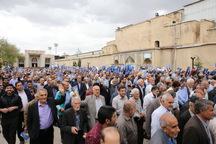 نمازگزاران شیراز با انجام راهپیمایی اقدام آمریکا را نکوهش کردند