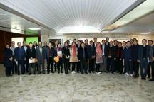 بازدید هیئت سرمایه گذاری کشور چین از شرکت پتروشیمی بندر امام