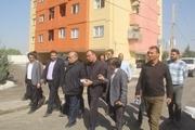۱۲ بلوک از مسکن مهر شهید شیرودی سرپلذهاب تا سالگرد زلزله تکمیل میشود