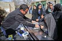 جهادگران پزشکی خراسان شمالی 350 نفر سیلزده را معاینه کردند