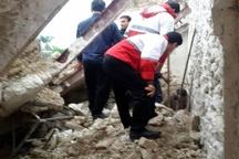 6 مصدوم در پی ریزش یک مغازه در برازجان