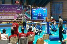 تیم والیبال نشسته ایران روسیه را شکست داد