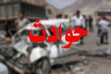 تصادف در جاده سمیرم به یاسوج یک کشته و پنج مصدوم برجاگذاشت