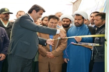 هفت نیروگاه خورشیدی خانگی در سرایان افتتاح شد