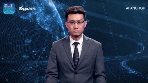 چین ربات گوینده خبر تولید کرد+فیلم