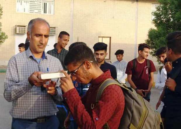 دانش آموزان رودخانه رودان به اردوی ملی مناطق مرزی اعزام شدند