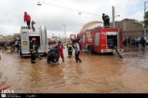 سیلاب به 113 چاه آب در کاشان آسیب زد