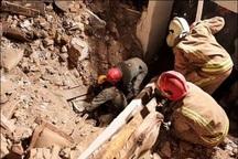 ریزش آوار محل گوبرداری شده در خیابان ظفر تهران 3 مصدوم برجا گذاشت