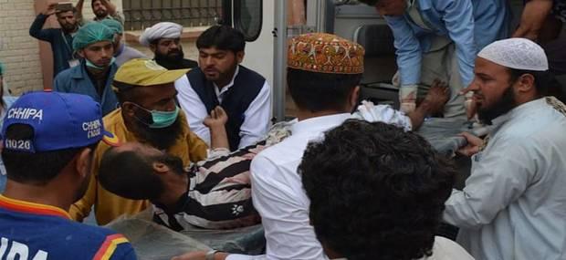 افزایش تلفات جمعه خونین پاکستان+ تصاویر