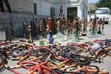 جمع آوری 600 جام قلیان در تربت حیدریه
