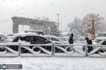بارش برف پاییزی در برخی نقاط تهران - 25 آبان