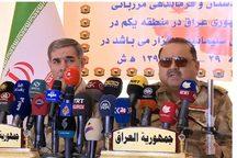 ایران و عراق بر ادامه همکاری در تامین مرزها تاکید کردند