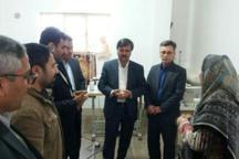 کارگاه تولید مکانیزه پوشاک در روستای کوسه کلاله افتتاح شد