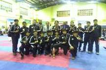 قهرمانی تیم دانش آموزی البرز در لیگ نوجوانان کاراته کشور