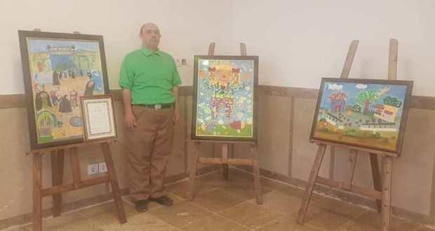 نمایشگاه نقاشی توان یاب کرمانی گشایش یافت