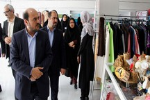 بازارچه کارآفرینی بانوان بوشهر راه اندازی شد