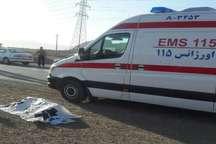 تصادف رانندگی در مبارکه به مرگ عابر پیاده منجر شد