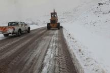35 راه روستایی در قزوین مسدود است