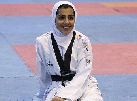 کولاک بانوی تکواندوکار ایران در منچستر با صعود به فینال رقابت های جهانی