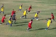مسابقه تیم های فوتبال جوانان انصار بافق و فولاد یزد طبق مقررات برگزار شده است