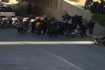 سقوط 2 دختر از پل چمران اصفهان