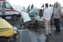 هفت نفر بر اثر حوادث رانندگی در دهلران زخمی شدند