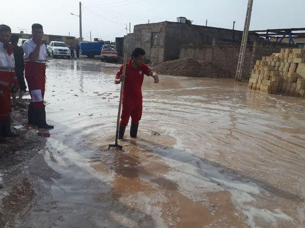 54 نفر در بارندگی های خراسان جنوبی امدادرسانی شدند