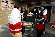 اجرای رزمایش زلزله با حضور 230 نفر در مهاباد