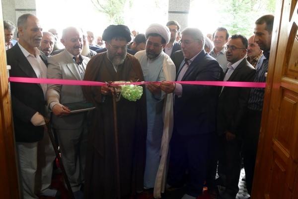 ساختمان جدید بقعه میرمحله ماسال افتتاح شد