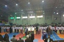 مراسم افتتاحیه المپیاد استعدادهای برتر ورزش در رشت برگزار شد