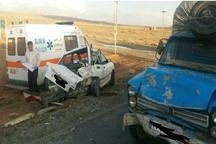 حوادث رانندگی در چهارمحال و بختیاری 8 مصدوم برجا گذاشت