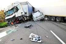 تصادف زنجیره ای پنج خودرو در همدان جزئیات سانحه اتوبوس زائران کربلا