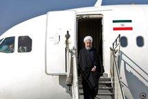 رئیس جمهوری برای بازدید از مناطق سیلزده به مازندران آمد