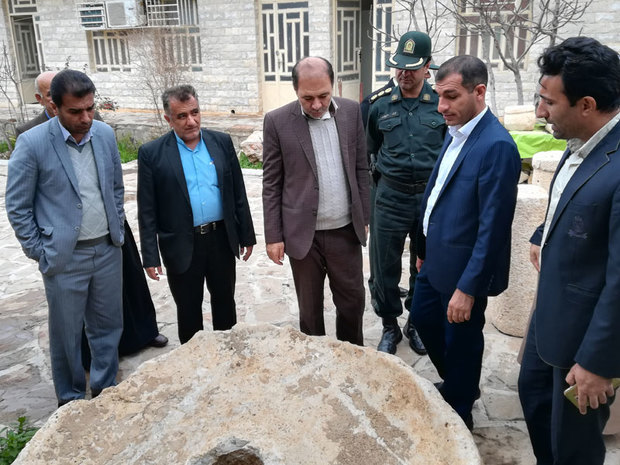چهارطرح میراث فرهنگی در شهرستان ایذه به بهره برداری رسید