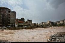 ساکنان اطراف رودخانه خرمآباد منازل خود را تخلیه کنند