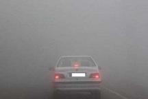 گردنه های خراسان شمالی مه آلود است