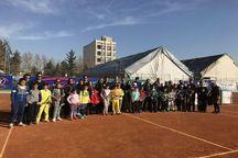 رقابتهای 50 نونهال تنیس باز شمال شرق کشور در مشهد