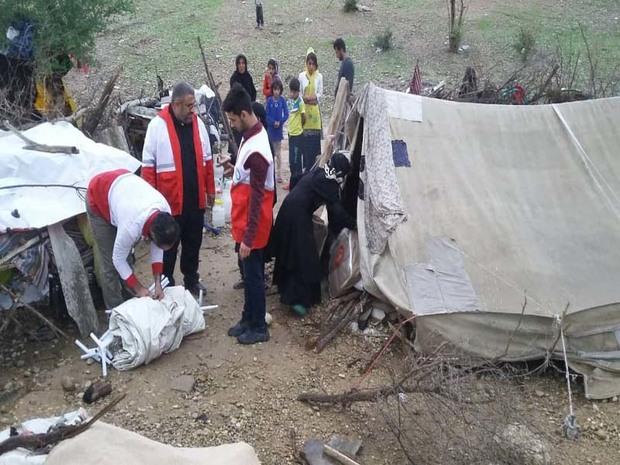 10خانوار عشایری در شوشتر امداد رسانی شدند