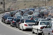 تردد تریلر و کامیون در محورهای خراسان شمالی محدود شد