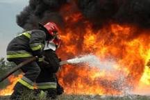 آشپزخانه بیمارستان گلستان اهواز در آتش سوخت